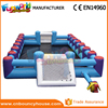 Inflatable soap soccer field for sports street soccer field