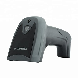 Low price RS232/USB Portable Reader 630nm Red Light wired laser 1d barcode Scanner gun