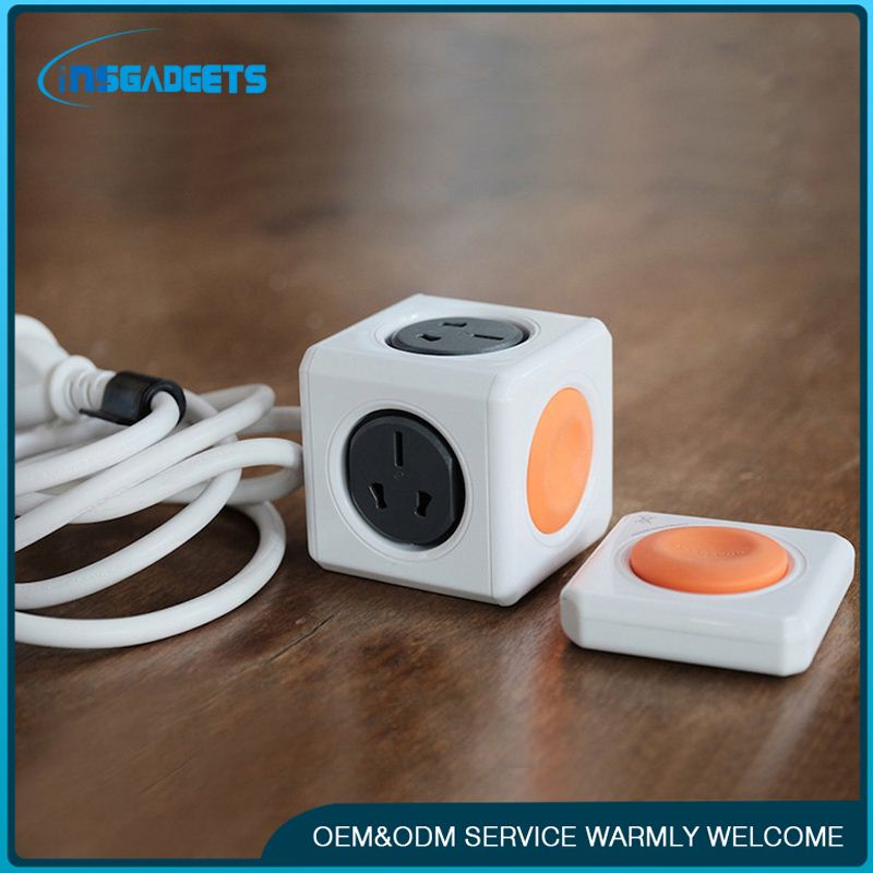 New fashion gsm remote control power socket ,h0t8p power strip/saa power socket and plug for sale