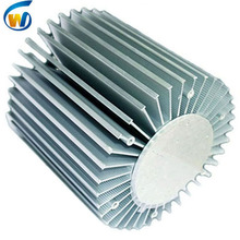 water cooling profile clu-048 liquid cooled extrusion led hbg-100 80-100w poem 130mm pin fin extruded round heatsink 100w