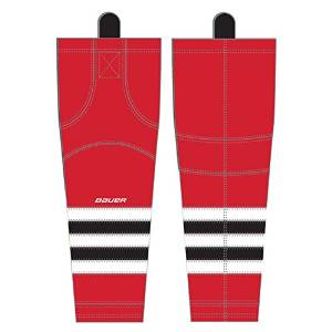 Bauer 800 Series Hockey Socks - 2014 - Chicago Blackhawks - Red/White/Black