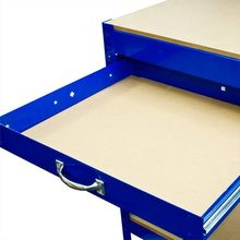 Heavy Duty Single Drawer metal portable foldable workbench