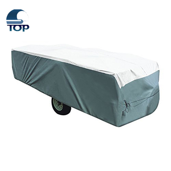 Pop Up Tyvek Polypropylene Trailer Cover