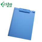 High quality customized a4 size double side medical mini plastic writing printed clipboard clip board with plastic clip
