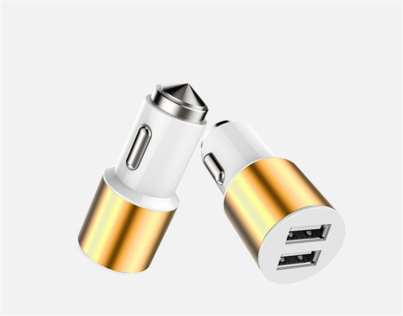 2017 most popular design with best quality and price dual usb mobile phone/car battery charger