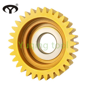 HSS PA20 bowl type gear shaping tool with TIN