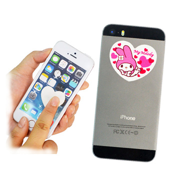 Hot selling custom shape microfiber sticky mobile phone screen cleaner
