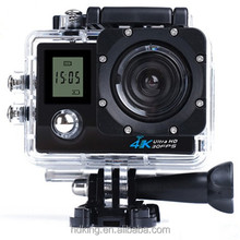 HDKing K1 4K WiFi Action Camera Waterproof 2 inch TFT LCD Screen DV Camcorder Sport Video dual screen best 4k action camera