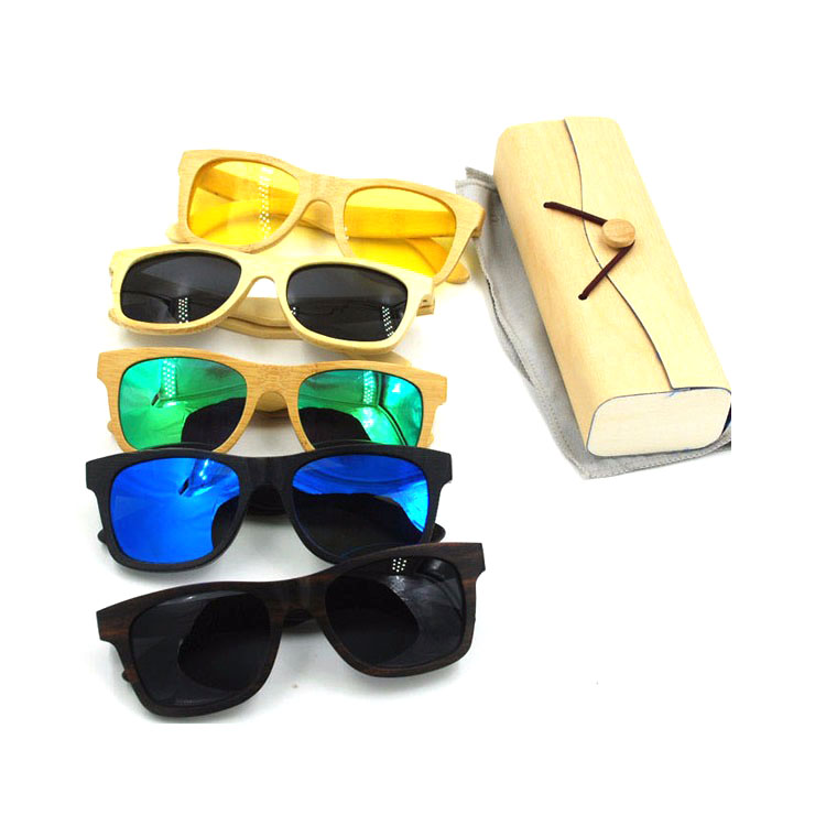 High Quality CE&FDA Wholesale Mirror Lens China Wood Bamboo Sunglasses