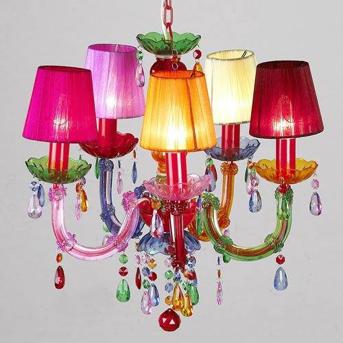 Multi Color Crystal Chandelier Modern