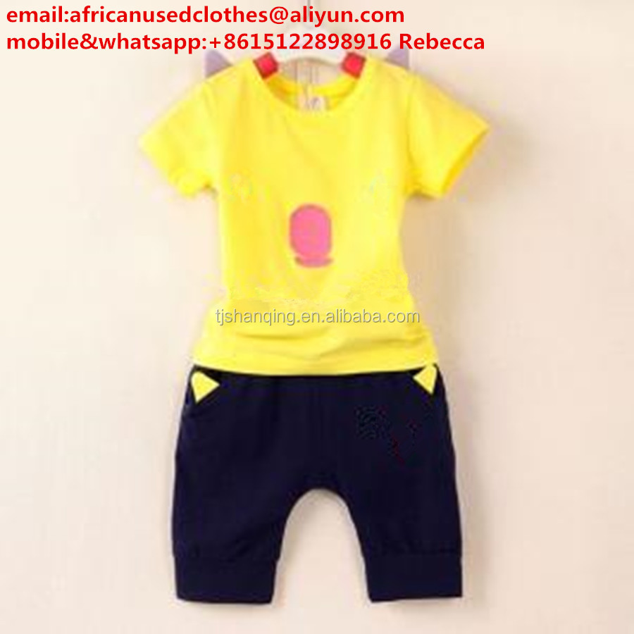baby wear clothes / used clothing / 2017 soft and light material for summer used clothing, baby items, chilren summer wear