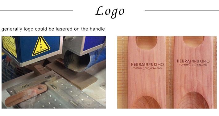 logo laser custom size mini kids shoe horn