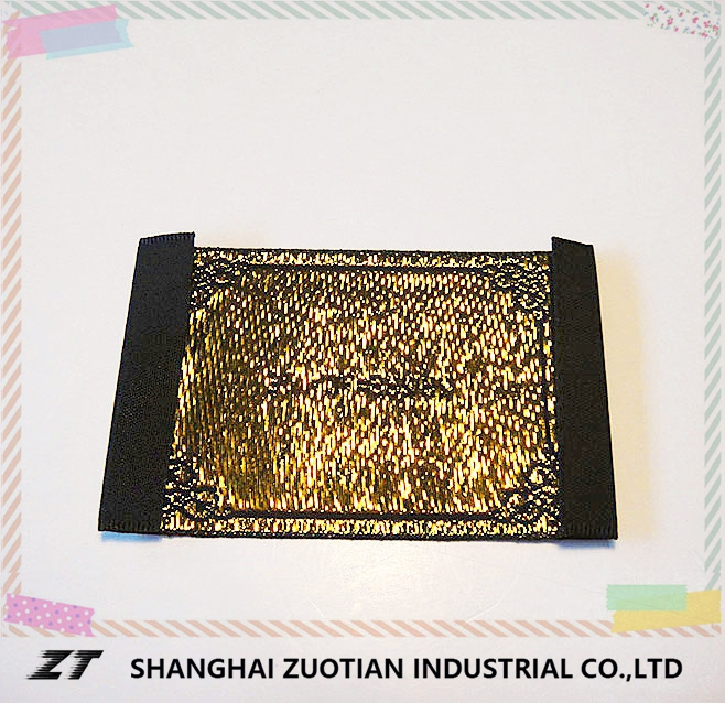 FACTORY OUTLETS Plated / Foil Clothing Label