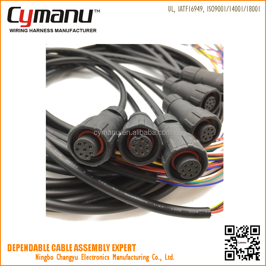 8pin Power Cable Assembly Suppliers And Wiring Harness M12 Manufacturers At