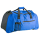 Promotional blue color gym polyester duffle bag