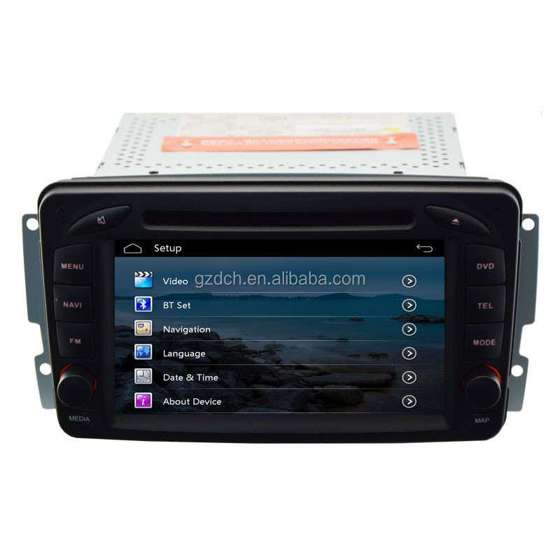car dvd player for mercedesbenz W203 W209 Viano W639 VITO W638 with can bus Capacitive touch screen WS-8802