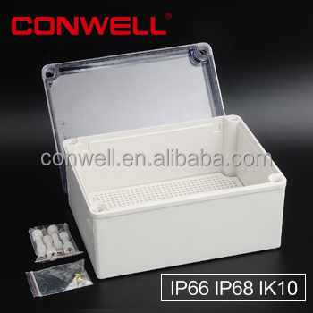 IP68 cable connection box electronic enclosure clamp saddle