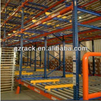 factory custom gravity pallet flow racking