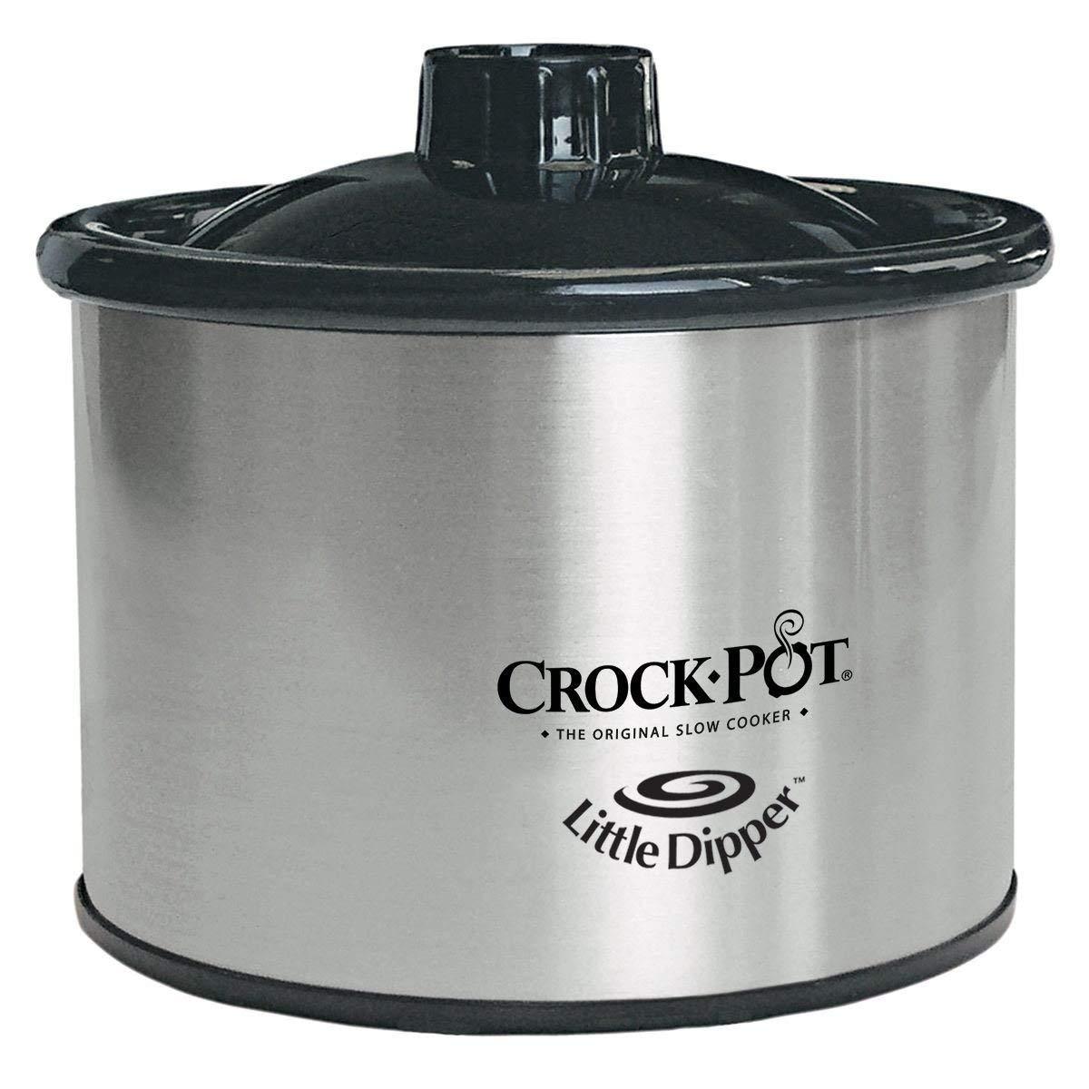 Crock-pot 32041-c-np Little Dipper Food Warmer, Silver