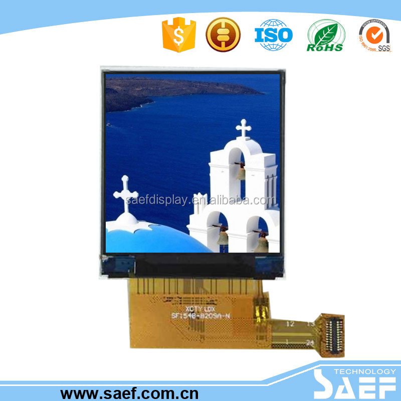 1.54 inch ips 240x240 without touch screen built-in MCU interface tft lcd display