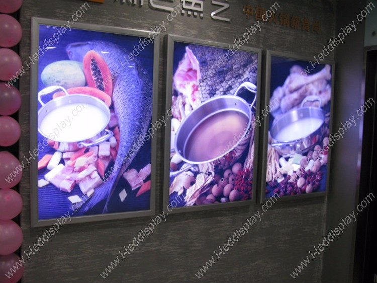 Aluminum Snap Frame LED Backlit Light Box