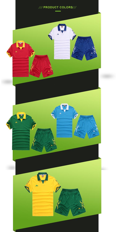 חדש עיצוב סיטונאי זול מותאם אישית כדורגל ג 'רזי כדורגל מדים כדורגל ג' רזי בסין