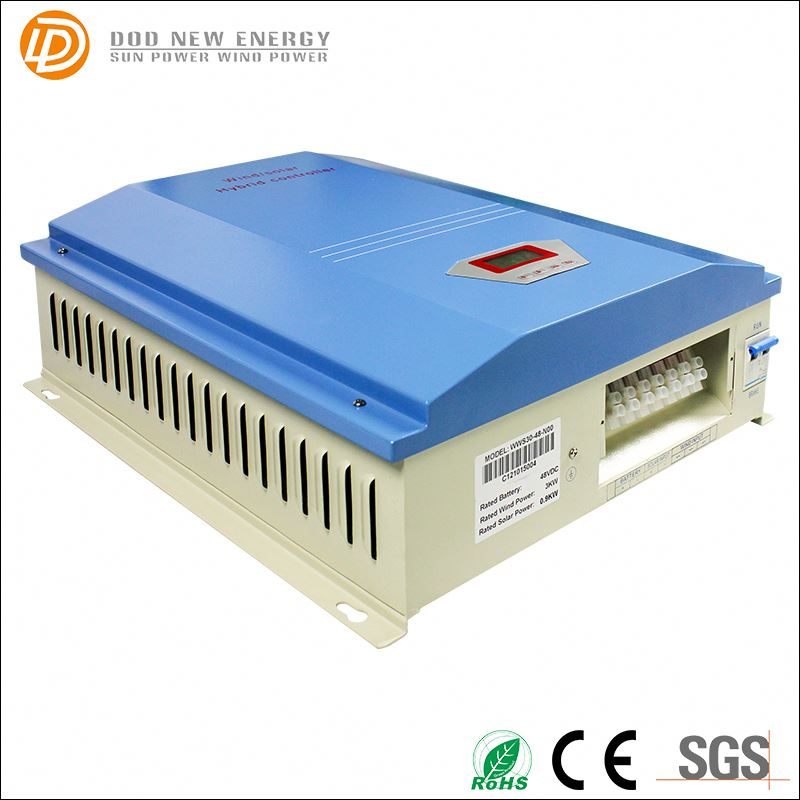 PWM charge controller with dump load 5KW 48V/120V/240V CE approved solar hybrid charge controller