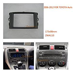 Autostereo Double 2 Din Car Radio Fitting Kit installation Panel for TOYOTA Auris 2006-2012,Car Radio Installation Trim Fascia,TOYOTA Auris Fascia Radio Frame