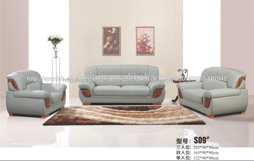 Muebles escandinavos moderno sof del sal n sof de la for Muebles de sala en l modernos
