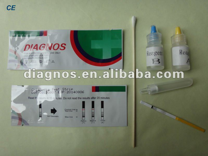 Chlamydia Antibody Diagnostic Reagent test