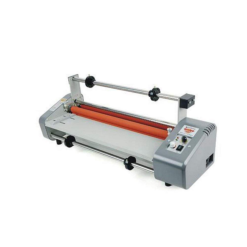 """AAA 17.5"""" Laminator Four Rollers Roll Laminating Machine Hottest8460T+ 440mm200m25mic Hot Laminating Film 1"""" Core (Laminator+Smooth Film)"""