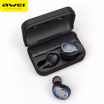 AWEI T3 OEM/ODM Factory Manufacturing Sport Stereo Mini wireless bluetooth headphones