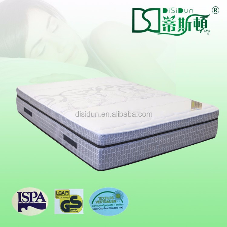 italian euro top style luxury memory foam mattress