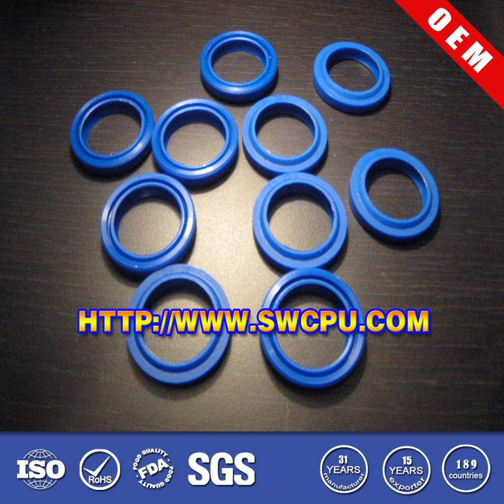 Round plastic cable seal