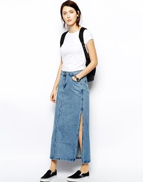 Maxi Denim Skirt, Maxi Denim Skirt Suppliers and Manufacturers at ...
