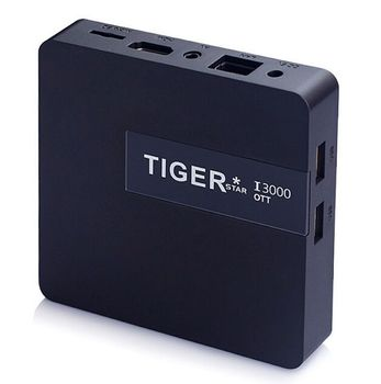 Android Tv Box Atsc Tiger I3000 OTT Arabic Iptv Box Blue Film Video Download