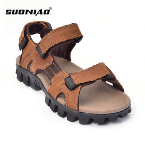 acfd27dd4 Brown Mens Sandals Leather