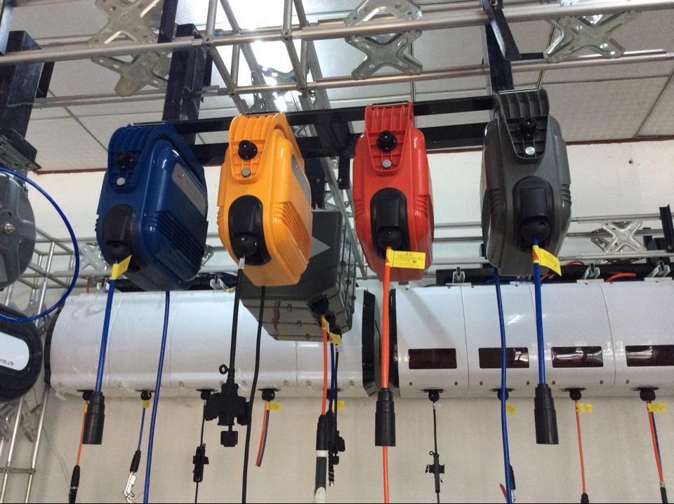 wallmounted automatic retractable auto rollup retractable auto rewinding water hose reel - Retractable Hose Reel