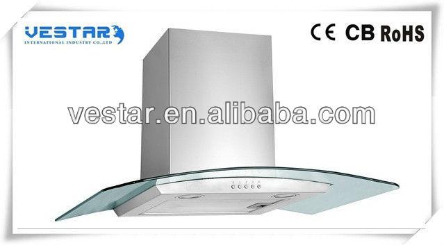 diseo de alta calidad de montaje en pared cocina gama chimeneas elctricas