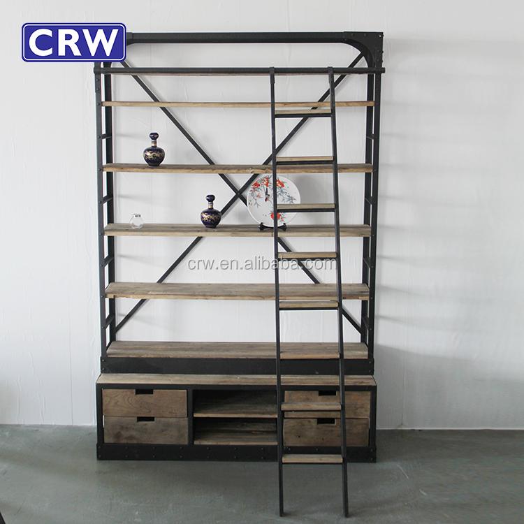 Super Boekenkast Woonkamer Ladder #MS88