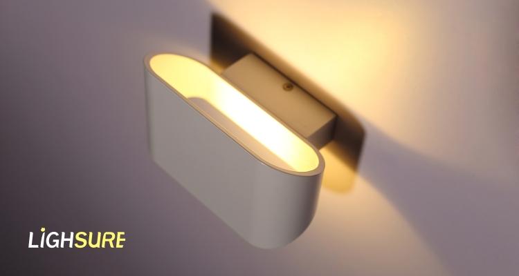 Creativo moderno in metallo da parete applique lampada da parete