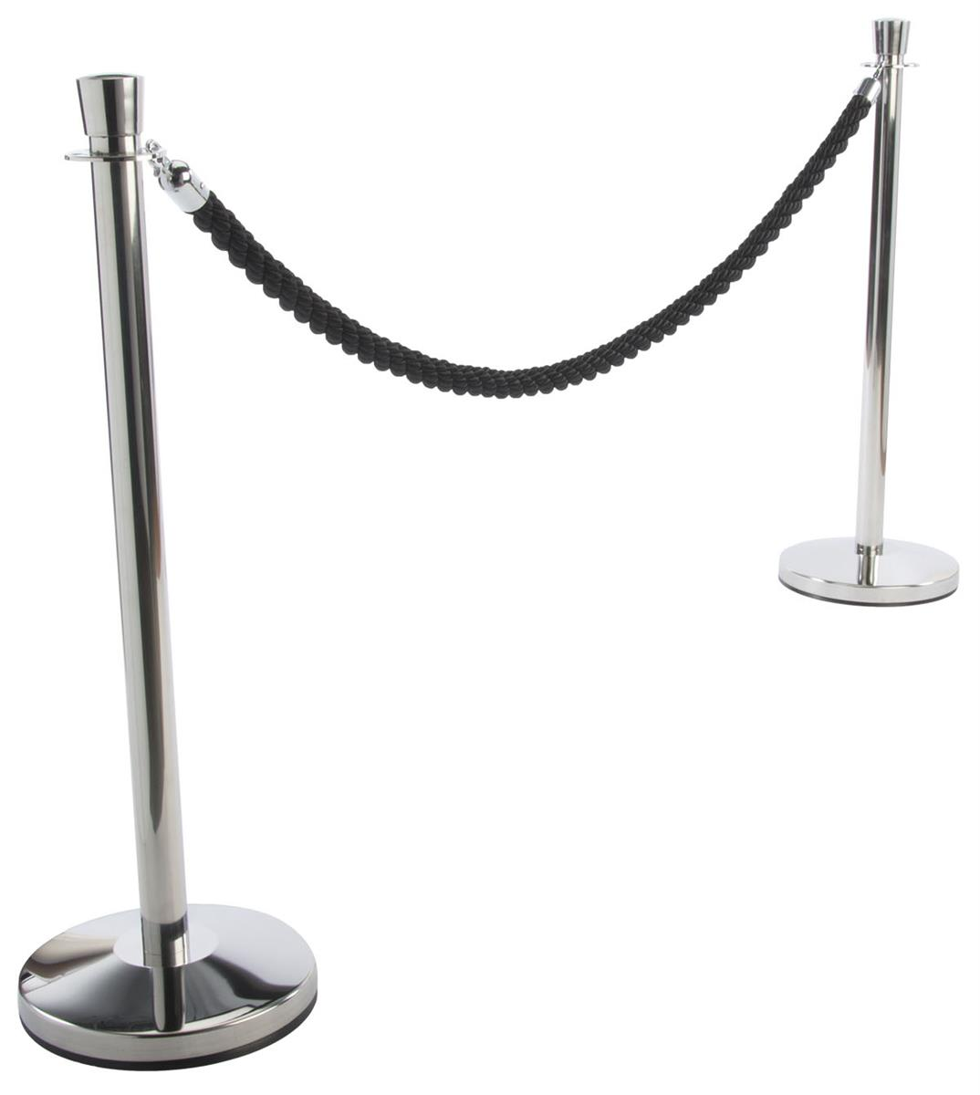 Light duty stand wachtrij touw stanchion voor crowd control