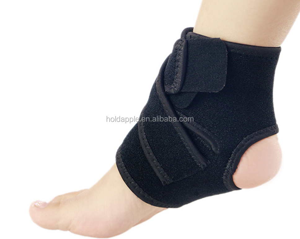 Ankle Support Breathable Ankle Brace for Running Basketball Ankle Sprain Men Women - One Size, Black HA01631