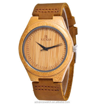 Redear high quality wholesale luxury quartz custom wood bamboo fashion watch for men and woman