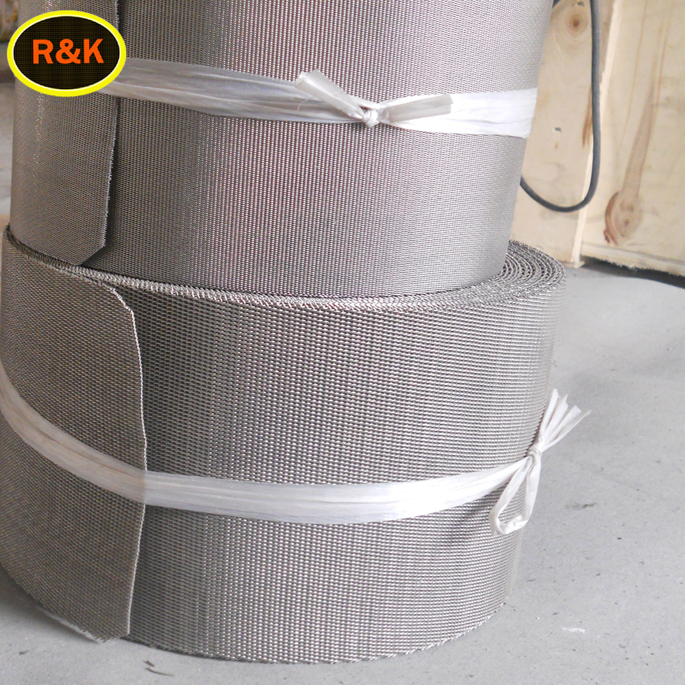 24/110 mesh plain dutch weave/twill weave stainless steel wire mesh
