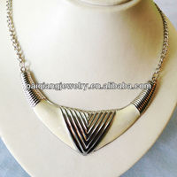 black and white flower gold chain collar indian choker necklaces