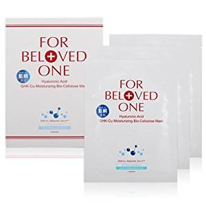 FOR BELOVED ONE Hyaluronic Acid Tri-Molecules GHK-Cu Moisturizing Bio-cellulose Mask (3pcs/box)