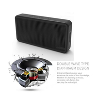 2017 guangdong new arrivan 6000mAh power bank bluetooth speaker with USB cable
