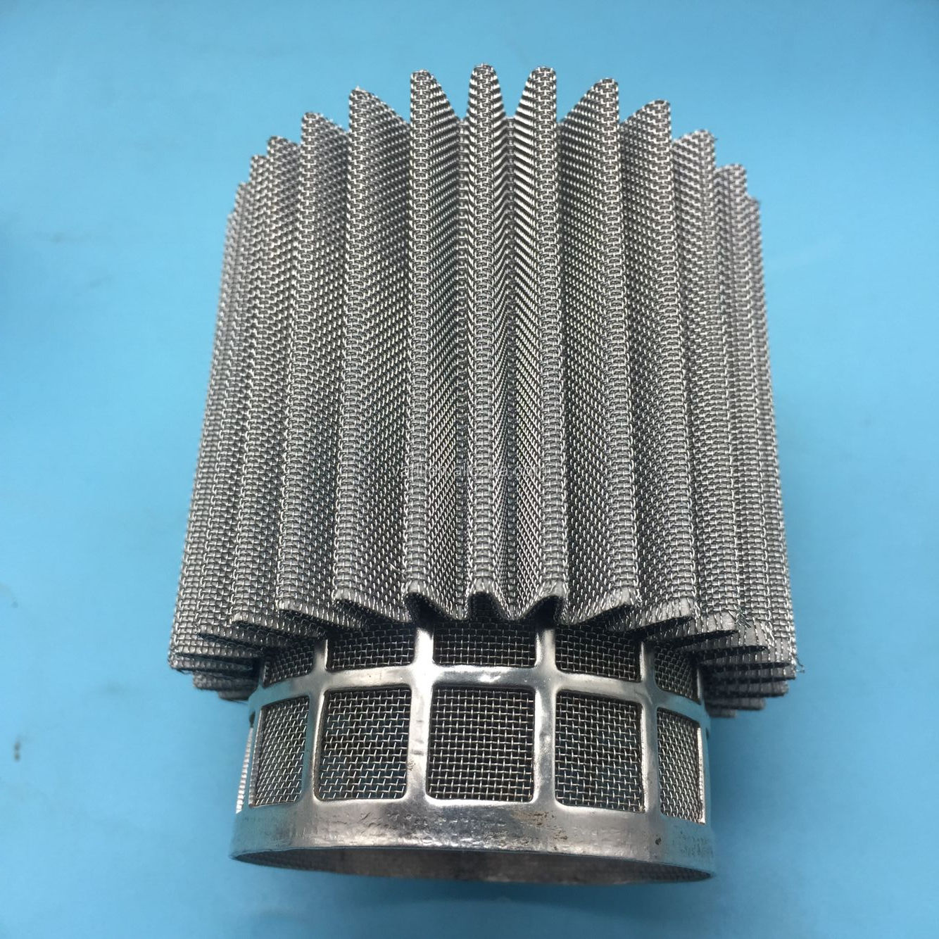 Stainless Steel Round Hole Perforated Metal Filter Cylinders/mesh filter tube