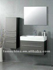light grey bathroom cabinets. melamine faced grey bathroom vanity  View light modern